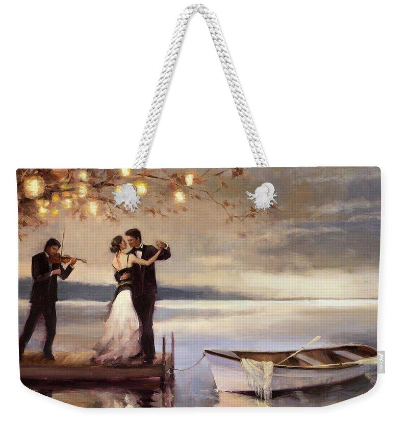 Dancing Weekender Tote Bags