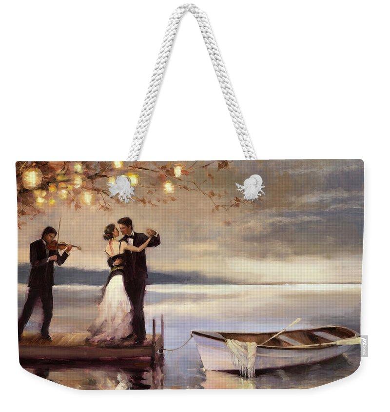 Violin Weekender Tote Bags