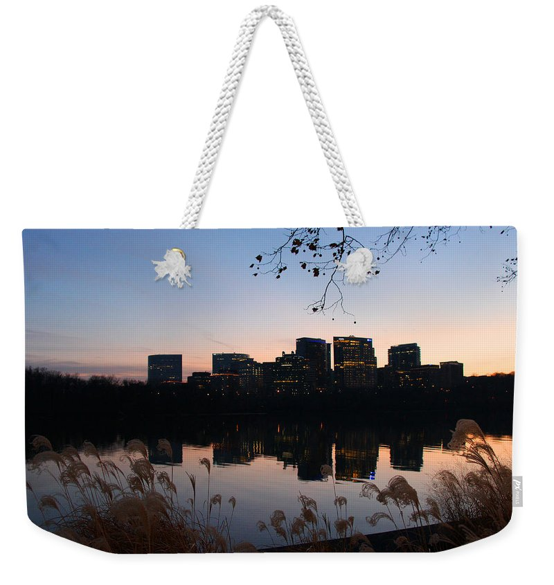 Rosslyn Weekender Tote Bag featuring the photograph Twin Rosslyn by Iryna Goodall