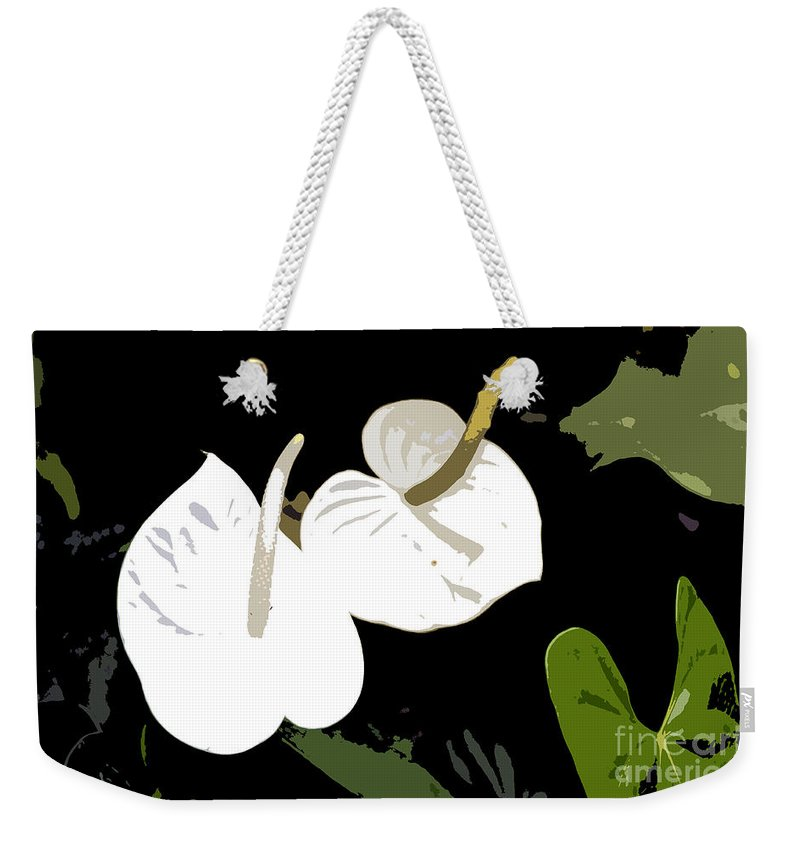 Flowers Weekender Tote Bag featuring the photograph Twins Work Number 10 by David Lee Thompson
