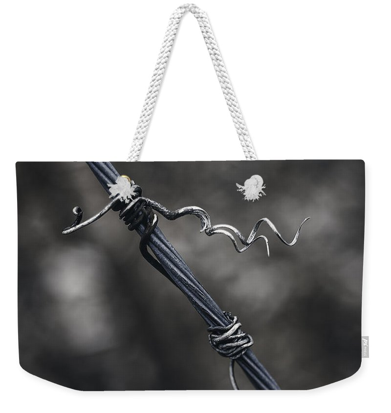 365 Project Weekender Tote Bag featuring the photograph Twisted by Scott Norris