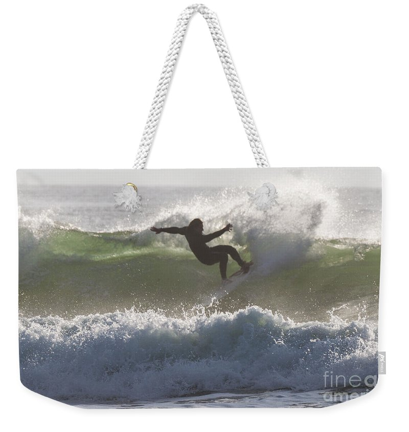 Natanson Weekender Tote Bag featuring the photograph Twisted by Steven Natanson