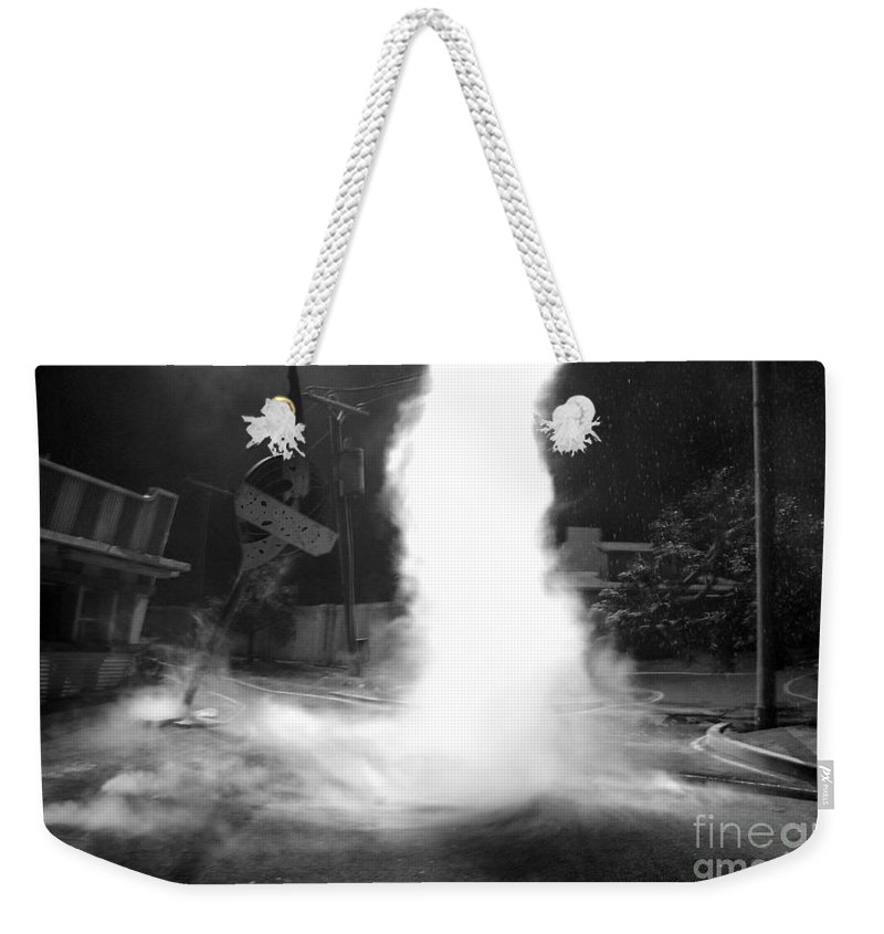 Twister Weekender Tote Bag featuring the photograph Twister In The Neighborhood by David Lee Thompson