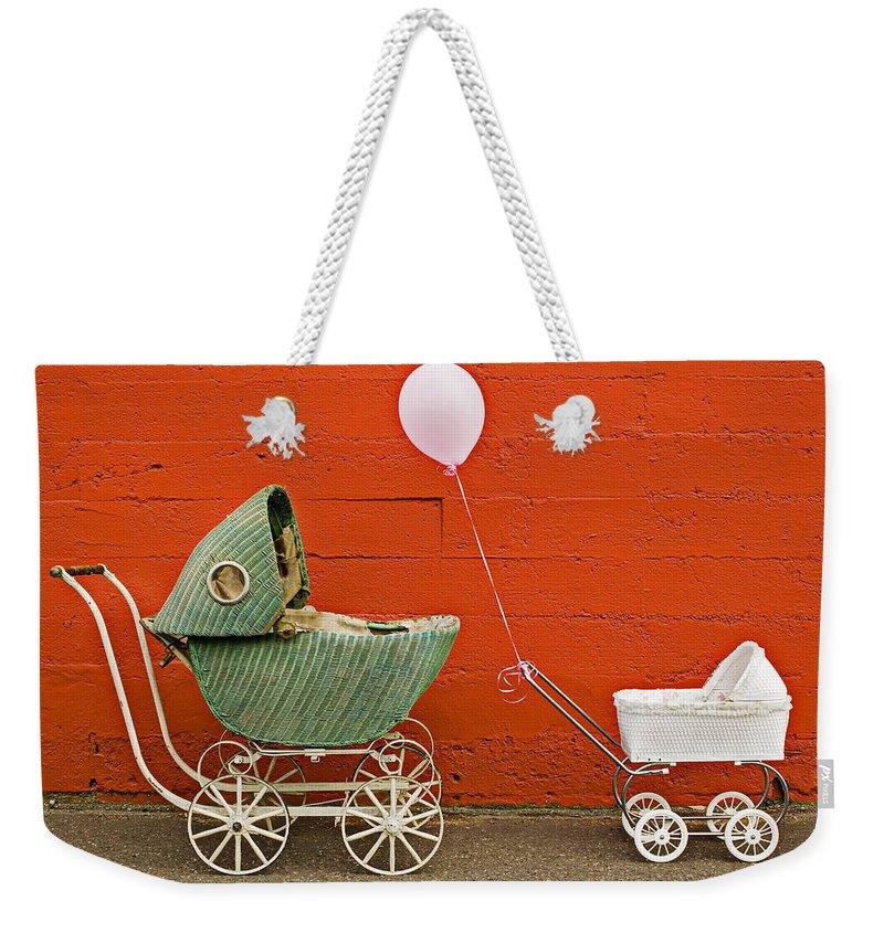 Carriage Weekender Tote Bags