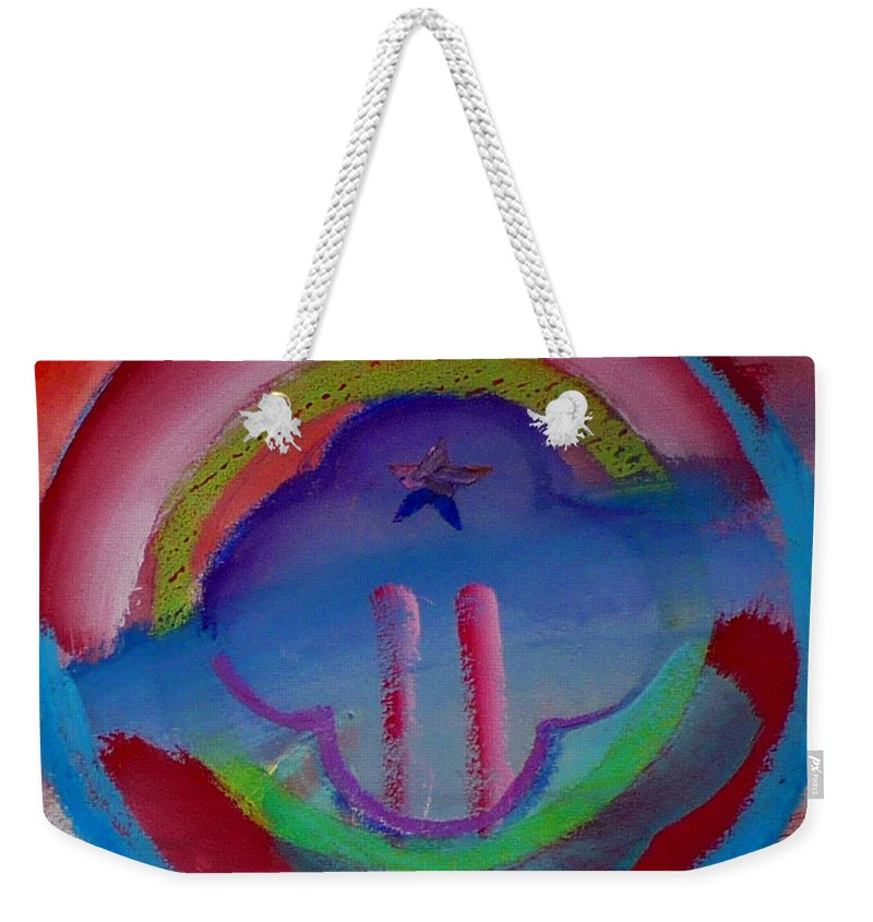 Logo Weekender Tote Bag featuring the painting two by Charles Stuart