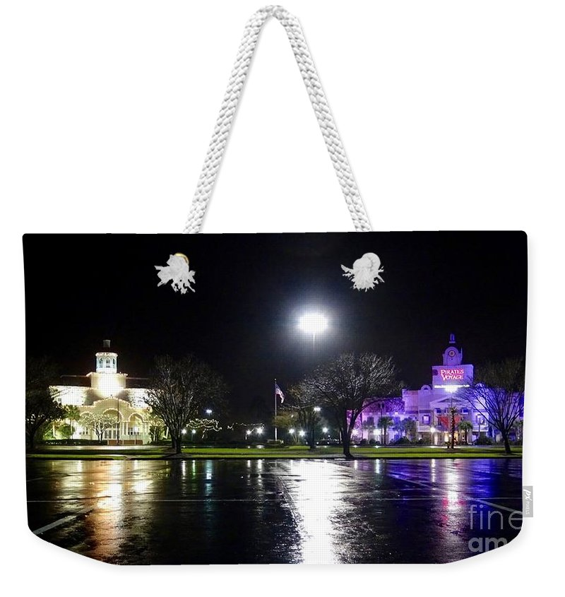 Karen Francis Weekender Tote Bag featuring the photograph Two For One by Karen Francis