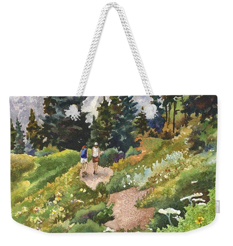 Trail Weekender Tote Bags