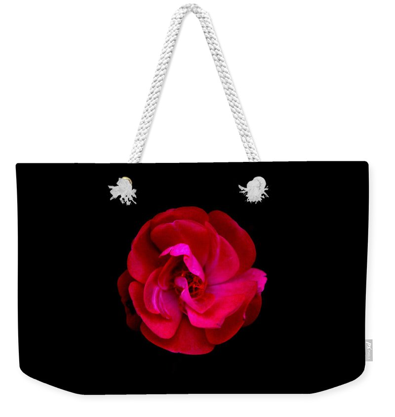 Flower Weekender Tote Bag featuring the photograph Ultimate Flower by Chad Rathwell