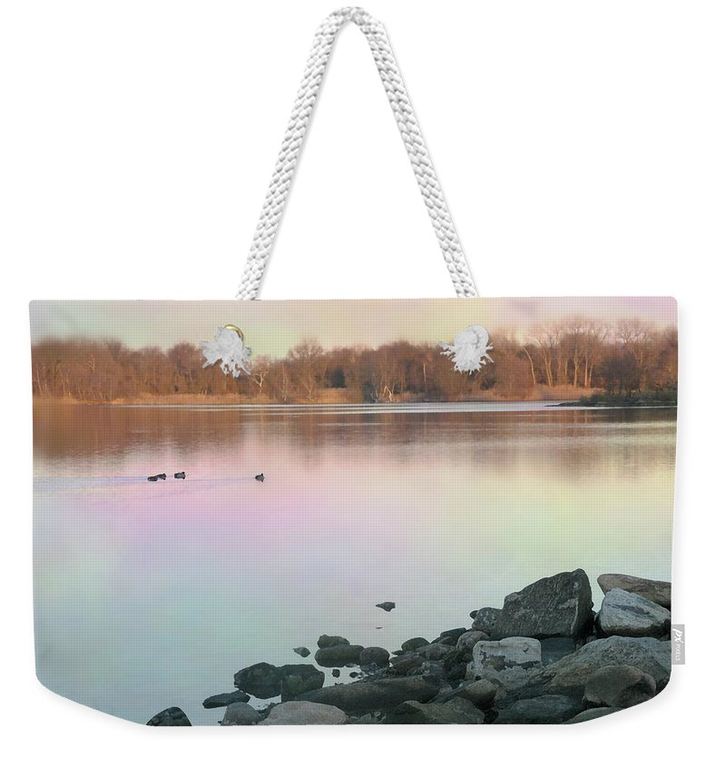 A Love Lost Weekender Tote Bag featuring the photograph Un Amore Perduto by Diana Angstadt