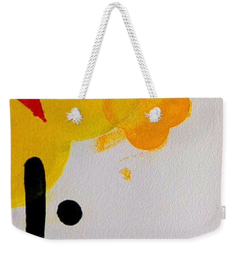 Drawing Weekender Tote Bag featuring the painting UN by Charles Stuart