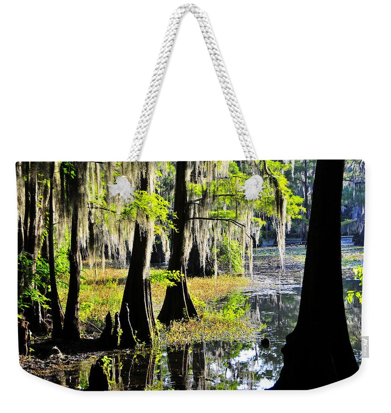 Skip Hunt Weekender Tote Bag featuring the photograph Uncertain by Skip Hunt