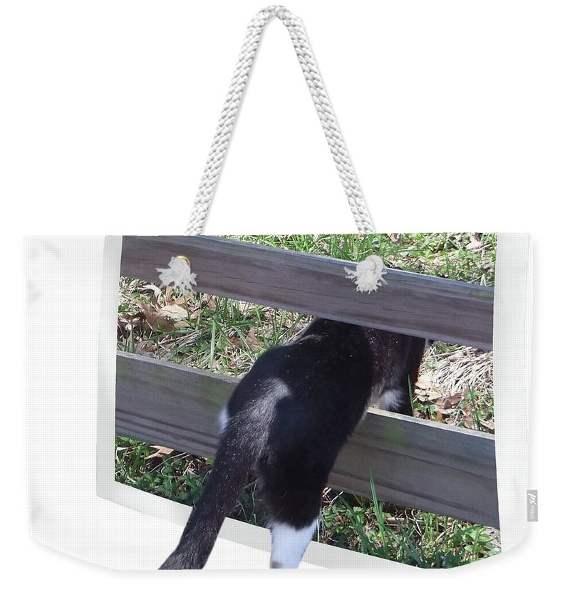 2d Weekender Tote Bag featuring the photograph Uncharted Territory by Brian Wallace