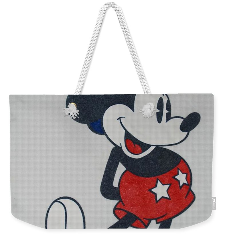 Disney Weekender Tote Bag featuring the photograph Uncle Mickey by Rob Hans
