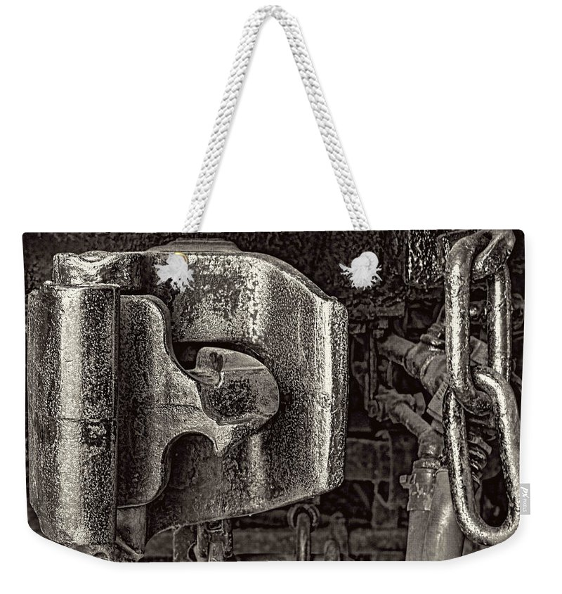 Pictorial Weekender Tote Bag featuring the photograph Uncoupled II by Roger Passman