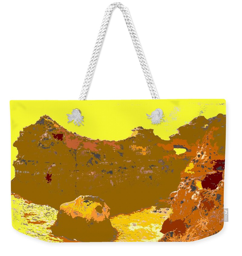 Mediterranean Weekender Tote Bag featuring the photograph Under A Portugese Sun by Ian MacDonald