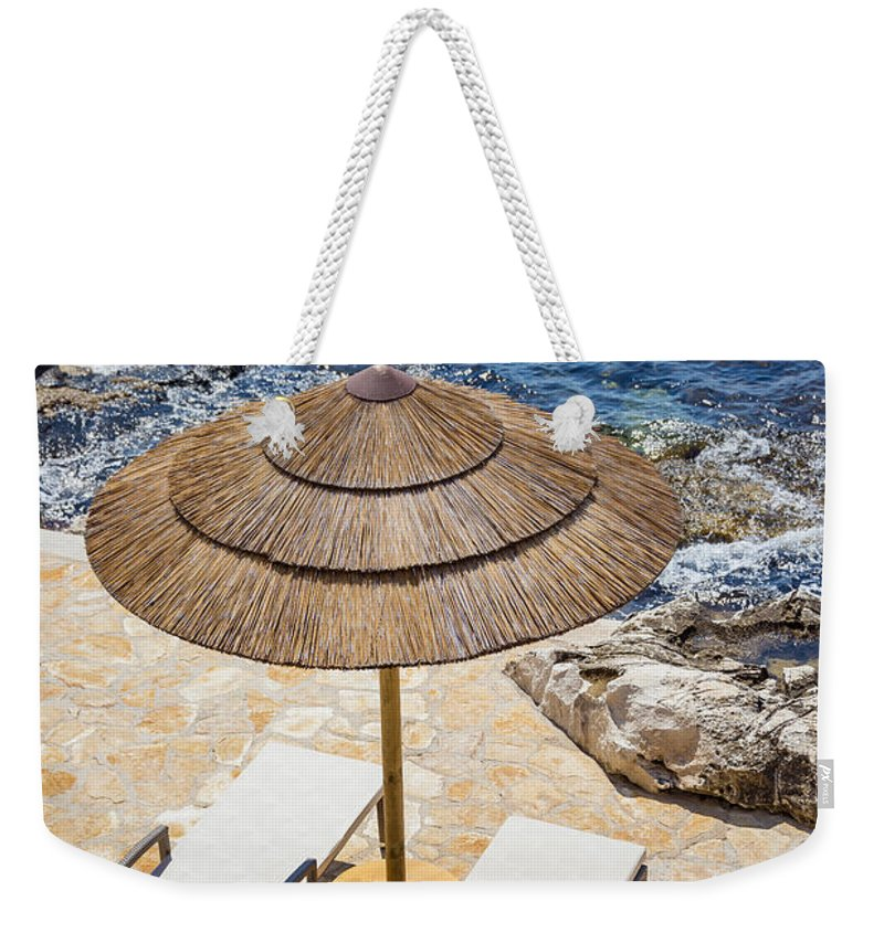 Bay Weekender Tote Bag featuring the photograph Under A Sun by Svetlana Sewell