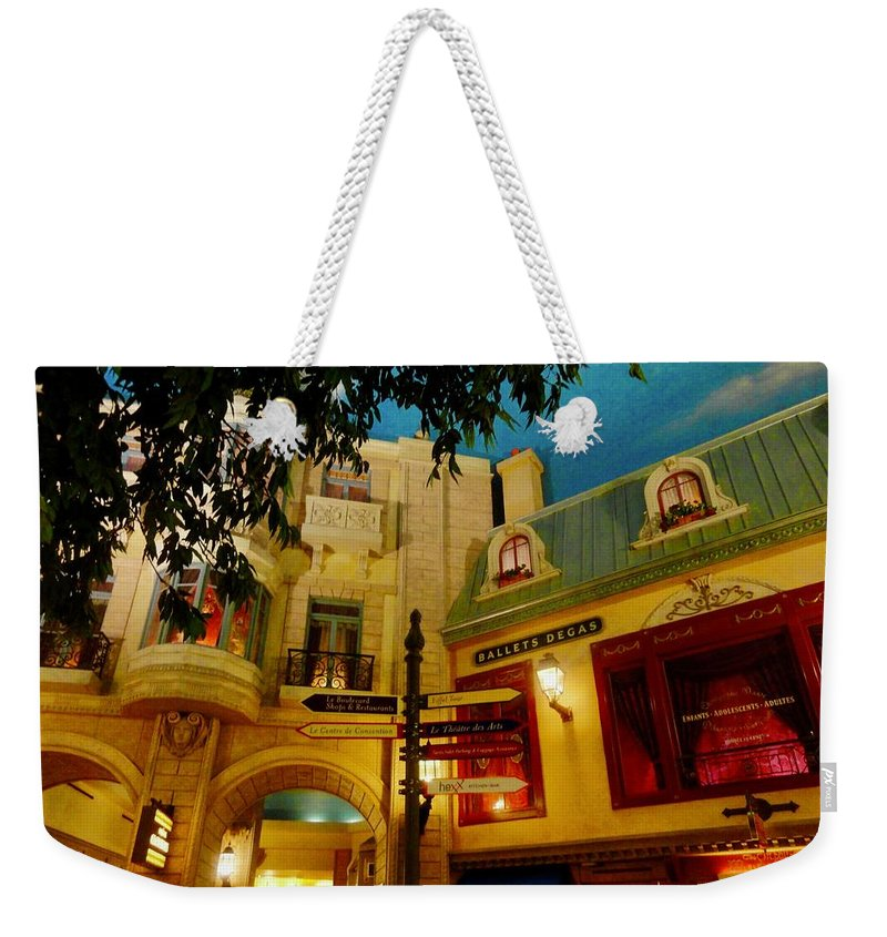 Underground Cities Weekender Tote Bag featuring the photograph Underground City by Aurora Bautista