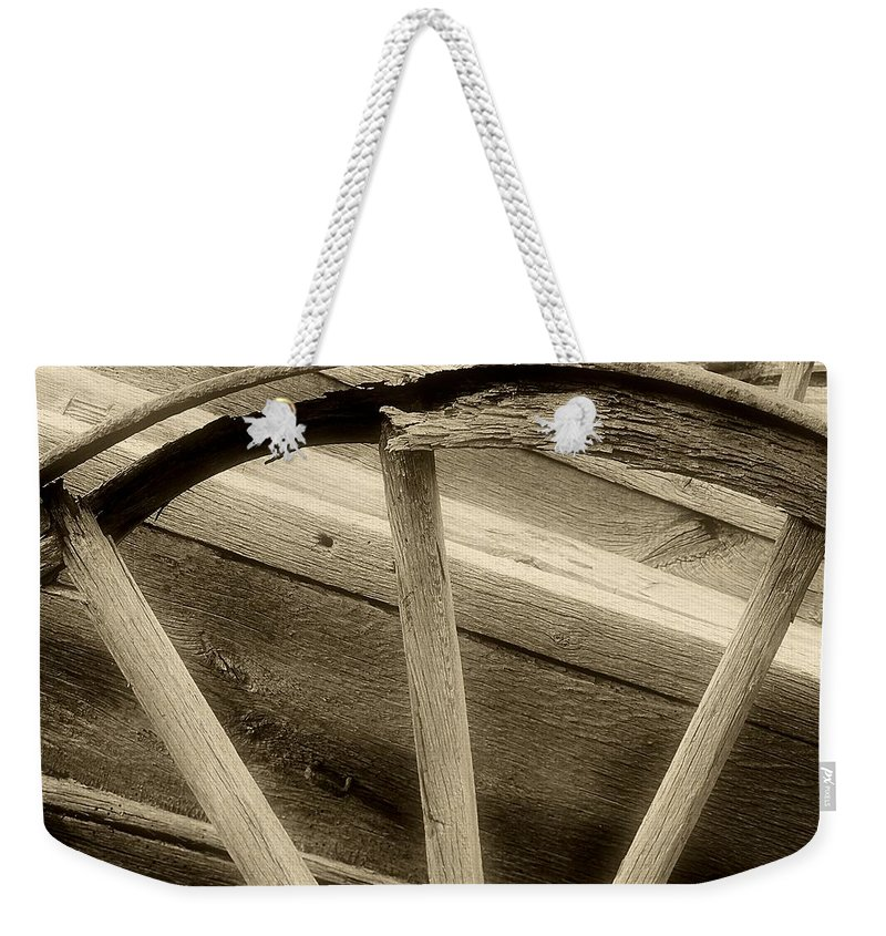 Weekender Tote Bag featuring the photograph Unspoken For by RC DeWinter