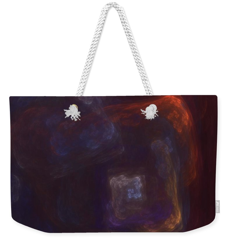 Fantasy Weekender Tote Bag featuring the digital art Untitled 01-12-10-a by David Lane