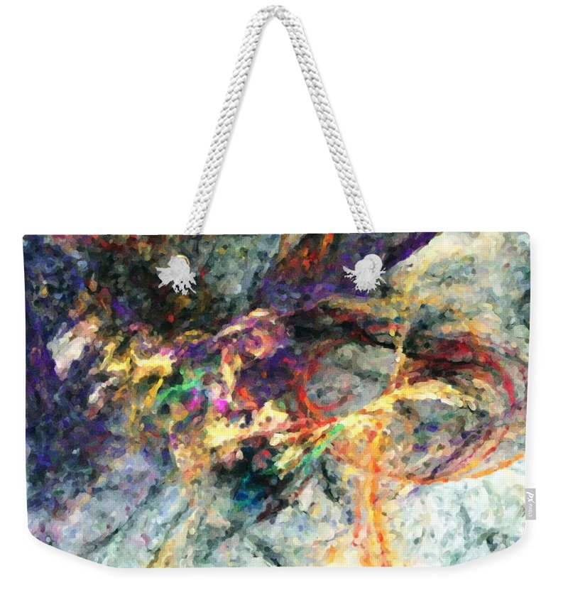 Digital Painting Weekender Tote Bag featuring the digital art Untitled 01-14-10-a by David Lane