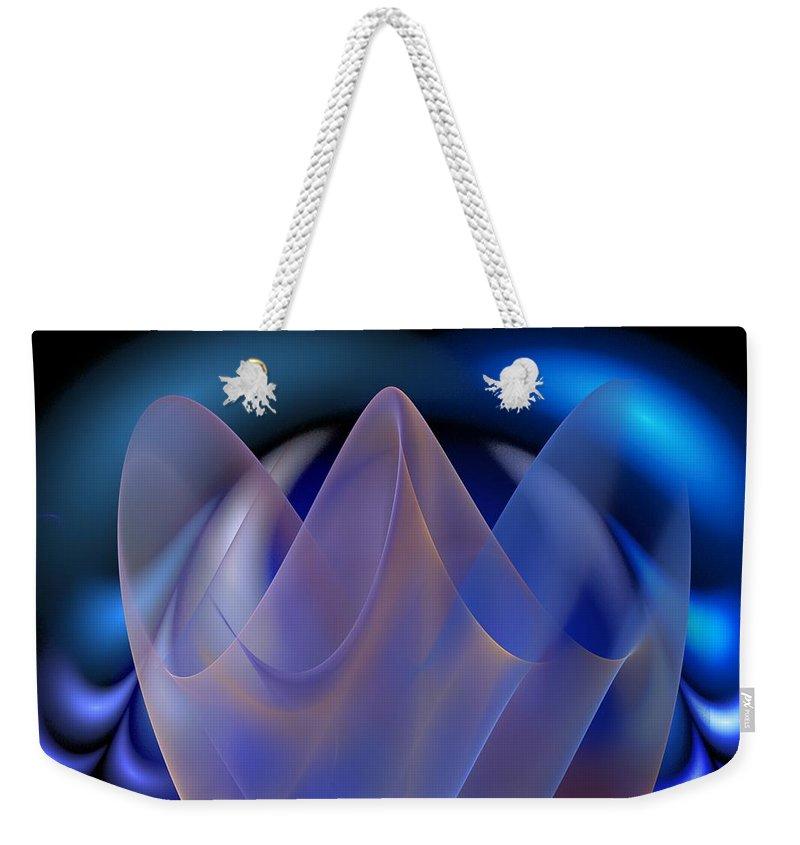 Digital Painting Weekender Tote Bag featuring the digital art Untitled 01-15-10-d by David Lane