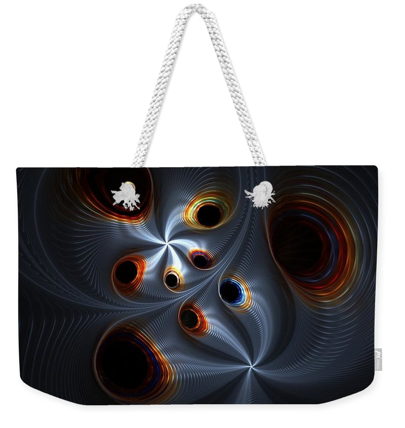 Digital Painting Weekender Tote Bag featuring the digital art Untitled 02-06-10-a by David Lane