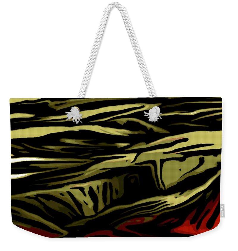 Digital Painting Weekender Tote Bag featuring the digital art Untitled 02-06-10-b by David Lane