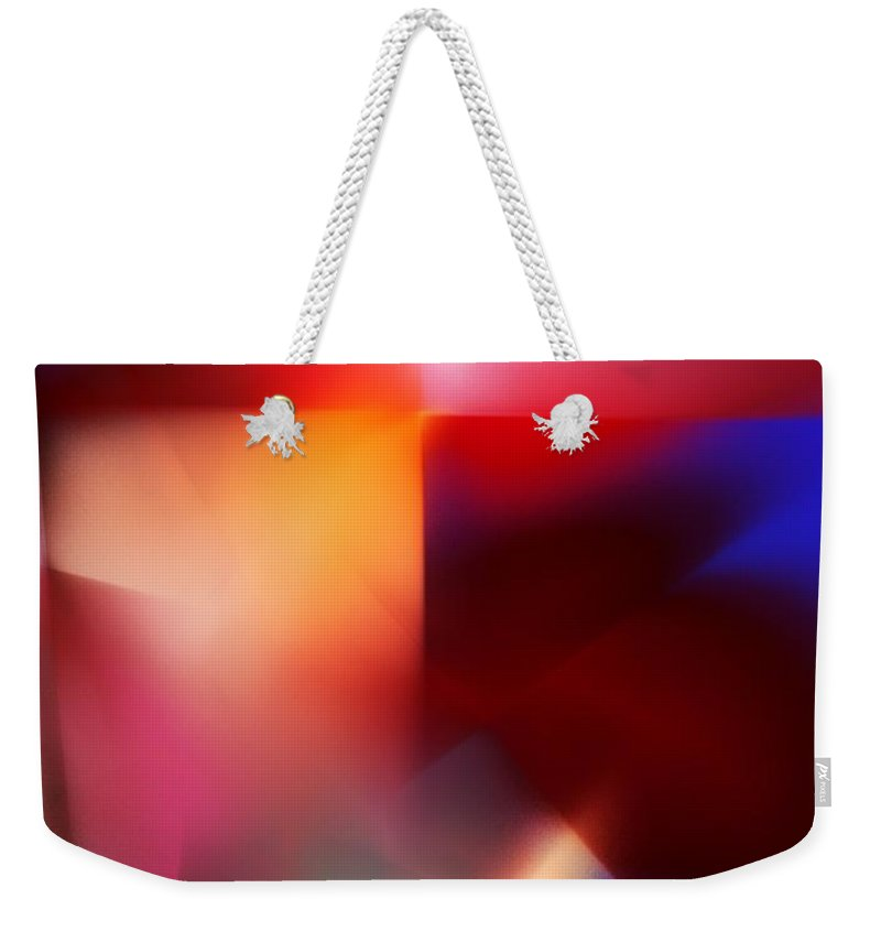 Digital Painting Weekender Tote Bag featuring the digital art Untitled 4-14-10 by David Lane