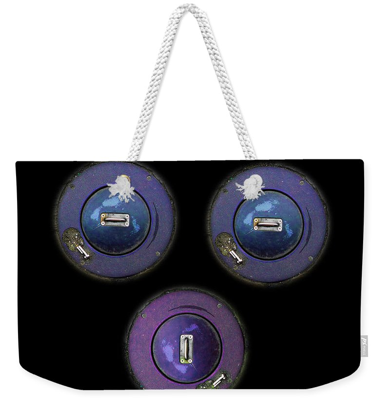 Erotic Weekender Tote Bag featuring the photograph Untitled Image by Charles Stuart
