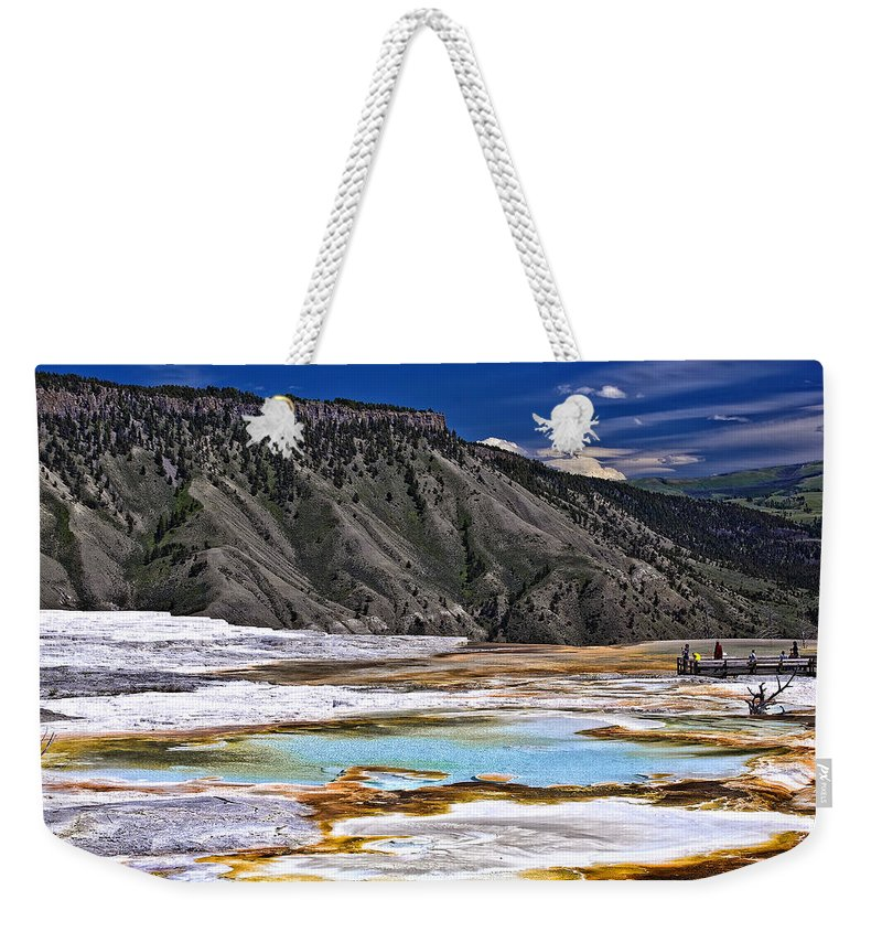 Nature Weekender Tote Bag featuring the photograph Untitled by John K Sampson