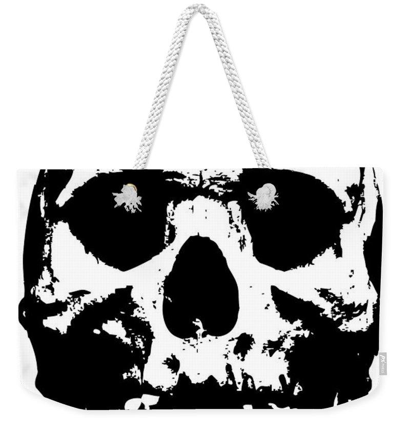 Weekender Tote Bag featuring the digital art Untitled No.33 by Geek N Rock