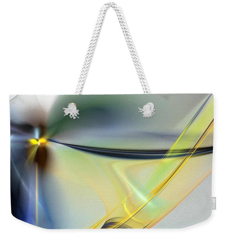 Digital Painting Weekender Tote Bag featuring the digital art Untitled4-14-10-d by David Lane