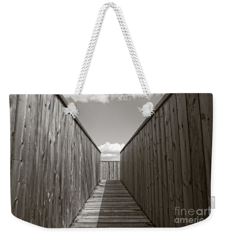 Watch Tower Path Weekender Tote Bag featuring the photograph Up To The Watch Tower by Brothers Beerens