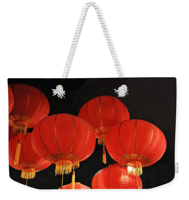 Still Life Weekender Tote Bag featuring the photograph Up Up And Away by Jan Amiss Photography