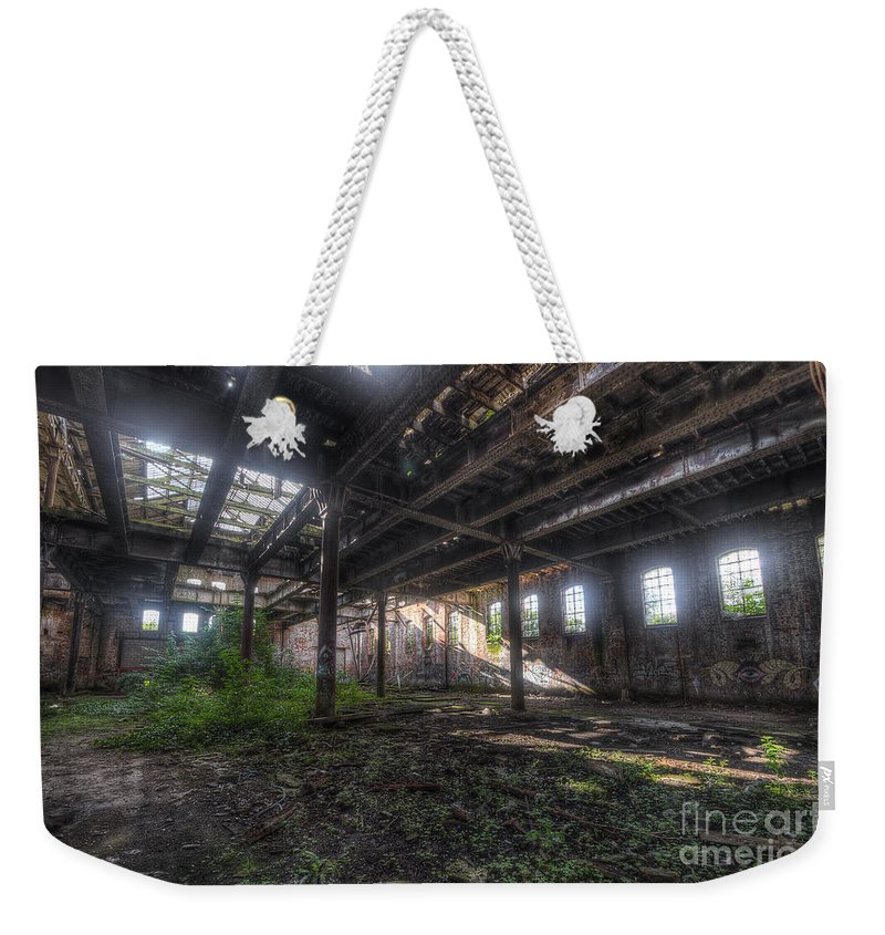 Yhun Suarez Weekender Tote Bag featuring the photograph Urban Decay 2.0 by Yhun Suarez