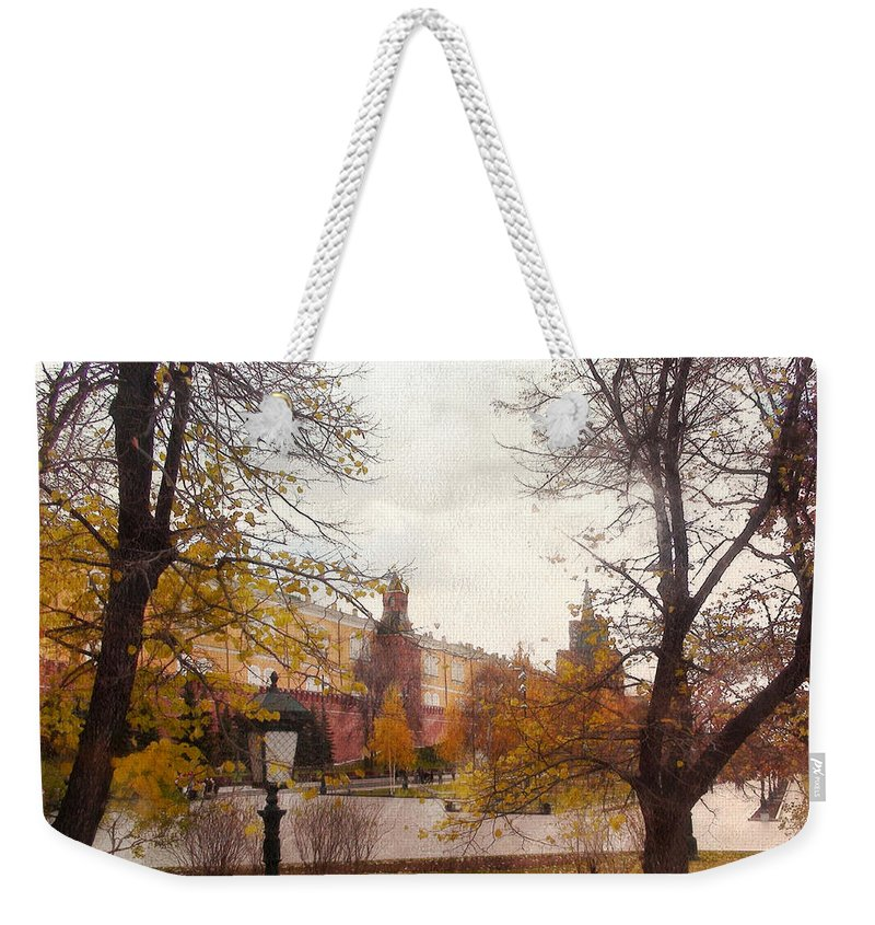 Urban Landscape Weekender Tote Bag featuring the photograph Urban Landscape by Sergey Lukashin