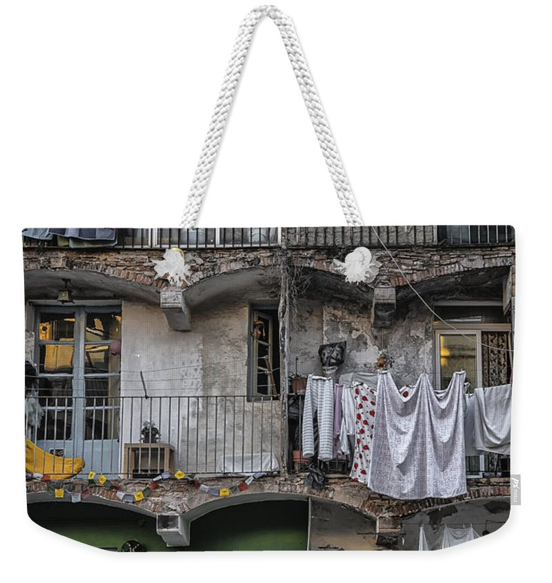 Activity Weekender Tote Bag featuring the photograph Urban Life by Svetlana Sewell