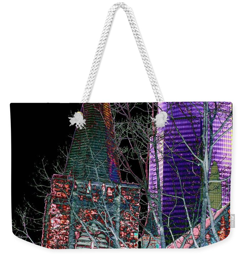 Seattle Weekender Tote Bag featuring the photograph Urban Ministry by Tim Allen