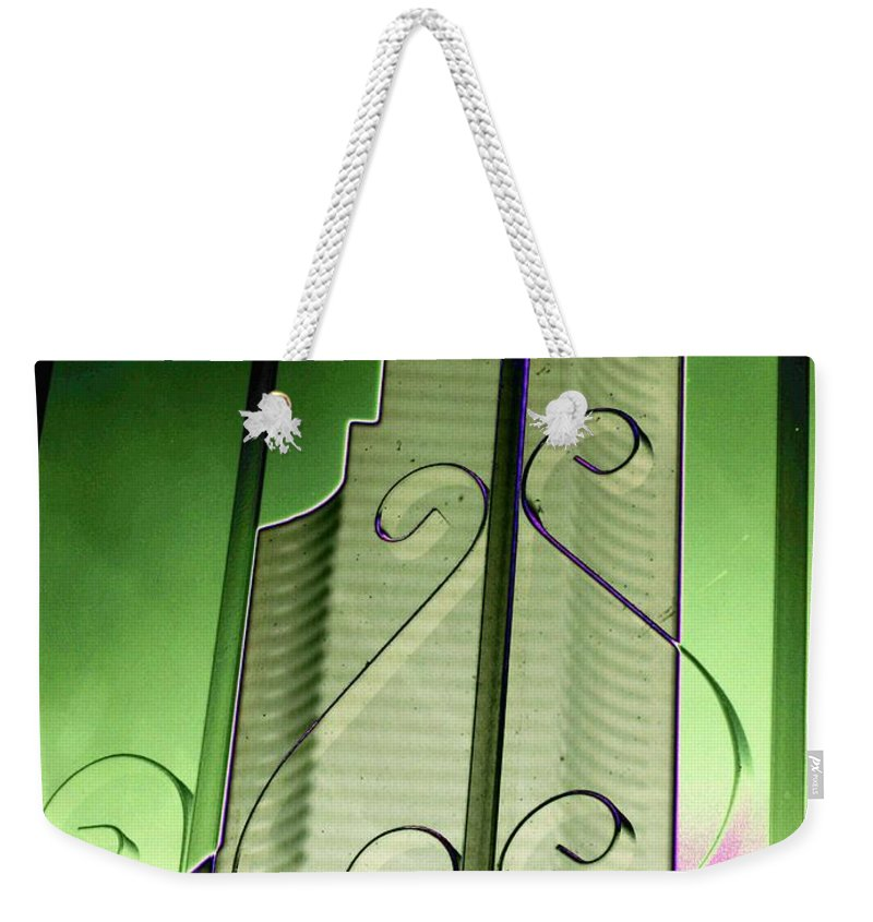 Seattle Weekender Tote Bag featuring the photograph Urban Reflection 2 by Tim Allen