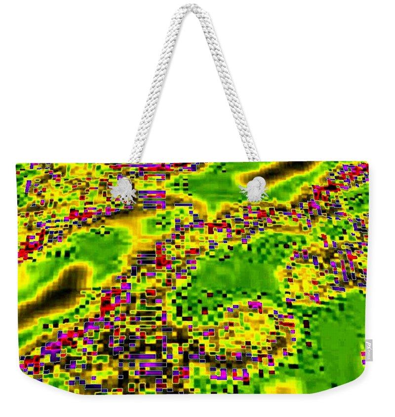 Urban Sprawl Weekender Tote Bag featuring the digital art Urban Sprawl by Will Borden
