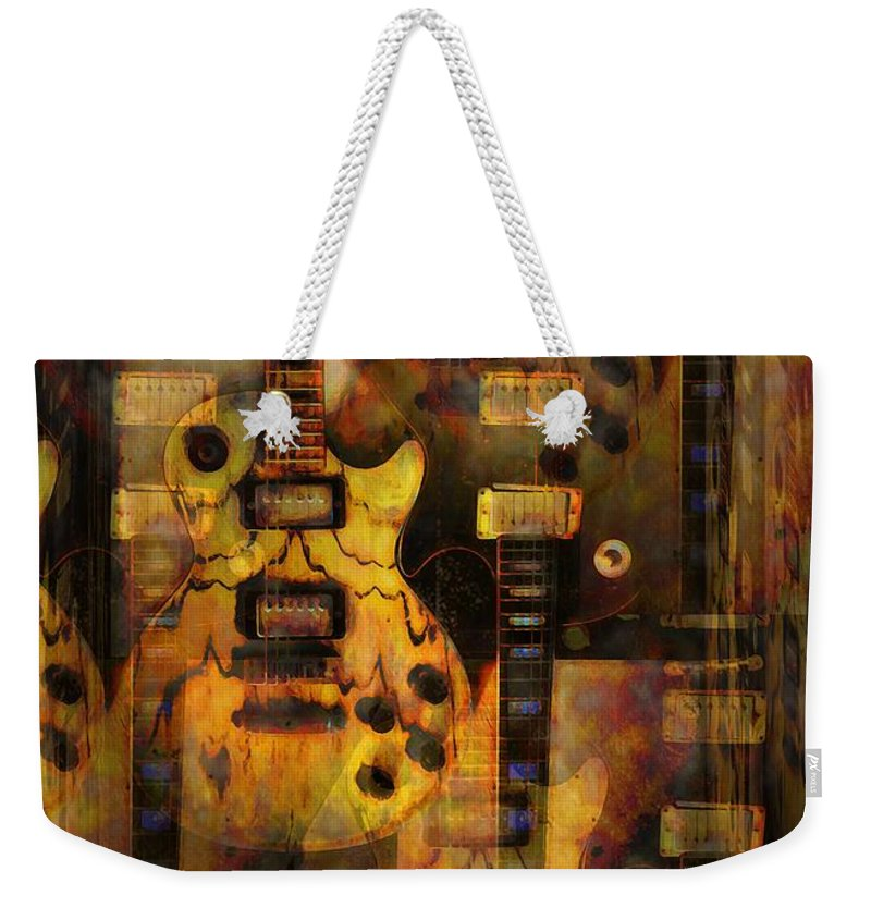 Guitar Weekender Tote Bag featuring the photograph Use You Illusion by Bill Cannon