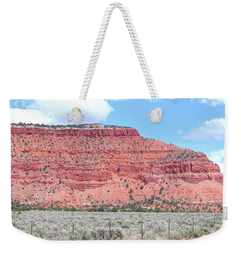 Utah Weekender Tote Bag featuring the photograph Utah 4 by Will Borden