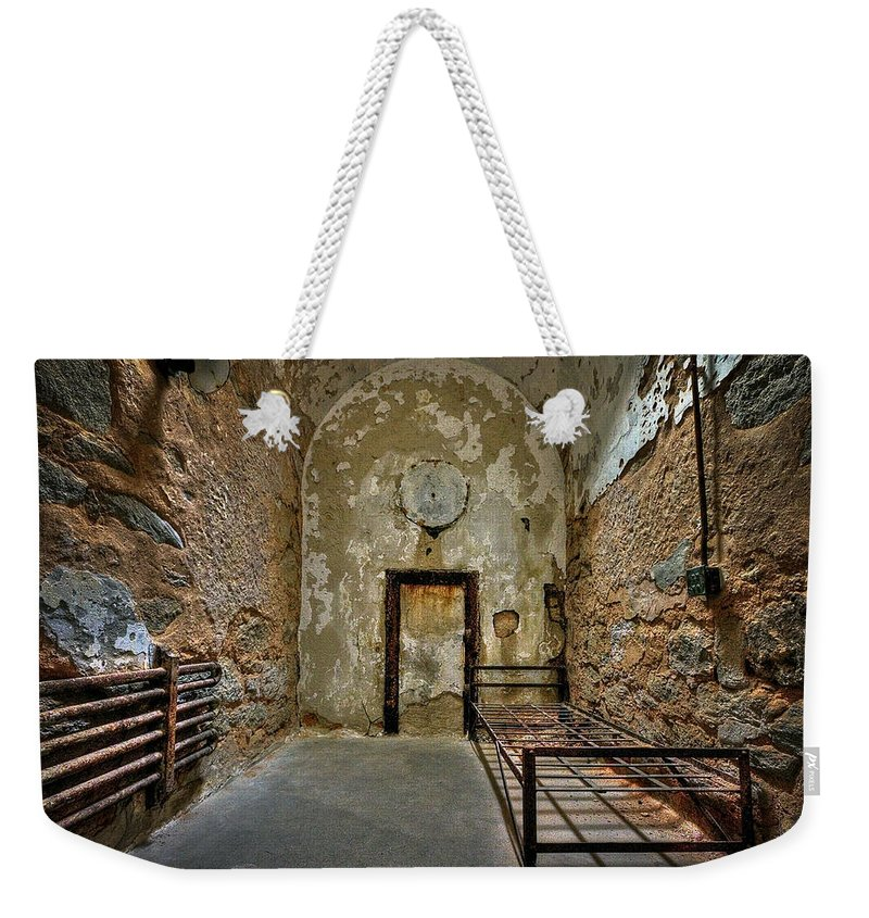 Abandoned Weekender Tote Bag featuring the photograph Vacancy by Evelina Kremsdorf
