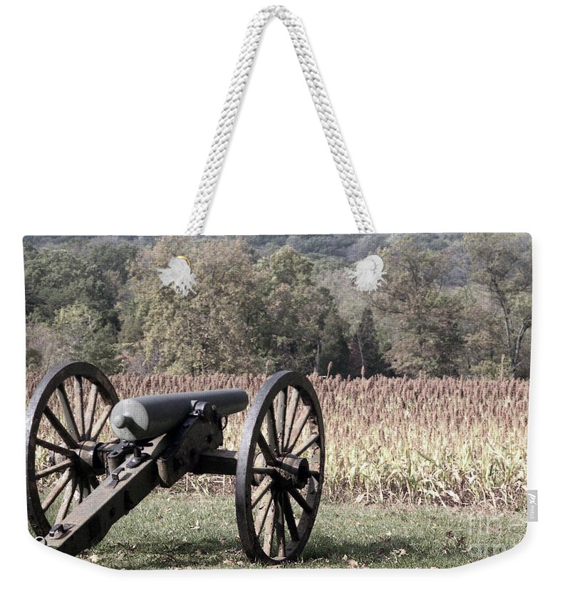 Gettysburg Weekender Tote Bag featuring the photograph Valley Of Death by Richard Rizzo