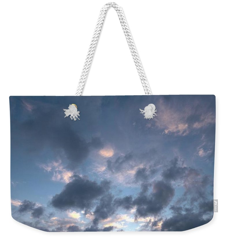 Lehtokukka Weekender Tote Bag featuring the photograph Variations Of Sunsets At Gulf Of Bothnia 5 by Jouko Lehto