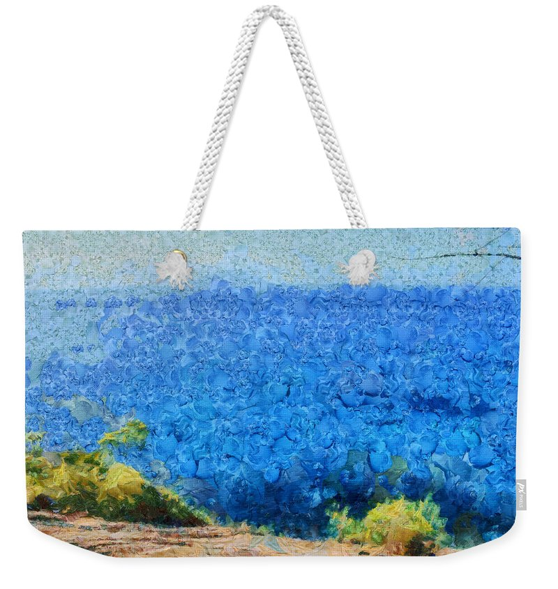 Ocean Weekender Tote Bag featuring the photograph Vast Expanse Of The Ocean by Ashish Agarwal