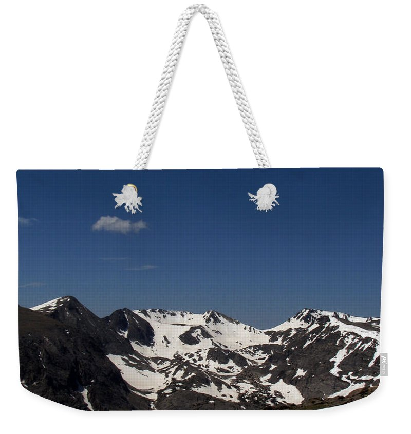 Colorado Weekender Tote Bag featuring the photograph Vast Mother by Amanda Barcon