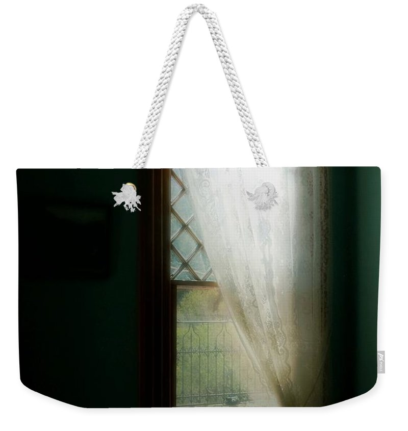 Antiques Weekender Tote Bag featuring the painting Velvet Afternoon by RC DeWinter