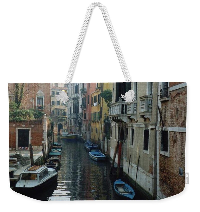 Venice Weekender Tote Bag featuring the photograph Venice by Marna Edwards Flavell