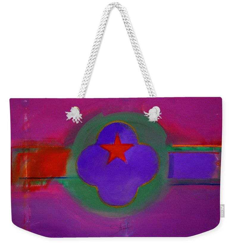 Star Weekender Tote Bag featuring the painting Venice Spiritual by Charles Stuart